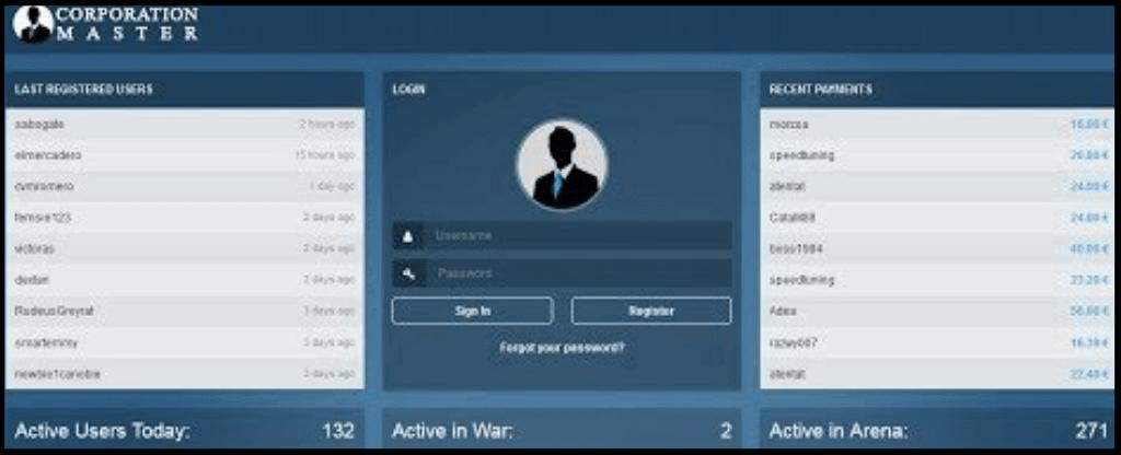 اپلیکیشن CORPORATION MASTER