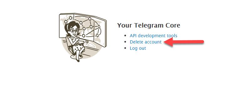 روش جدید حذف اکانت تلگرام