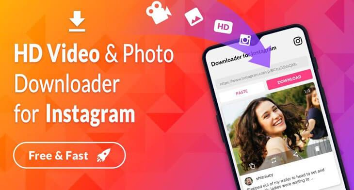 دانلود از اینستاگرام Video Downloader – for Instagram Repost App