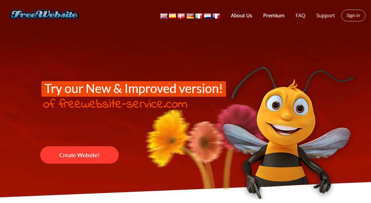 هاست رایگان خارجی freewebsite-service