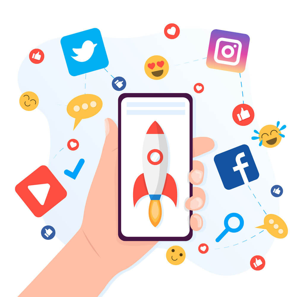 استفاده از رسانه های اجتماعی برای بازاریابی اپلیکیشن