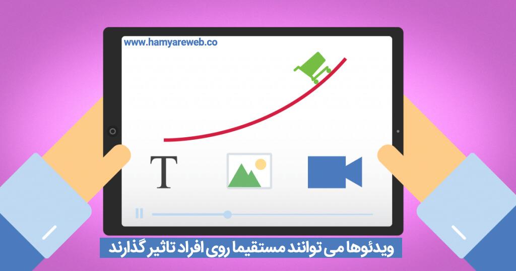 ویژگی های ویدئو مارکتینگ در بازاریابی اینترنتی